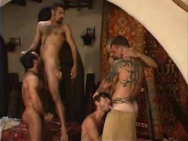 hairy men Sandra ten modeles