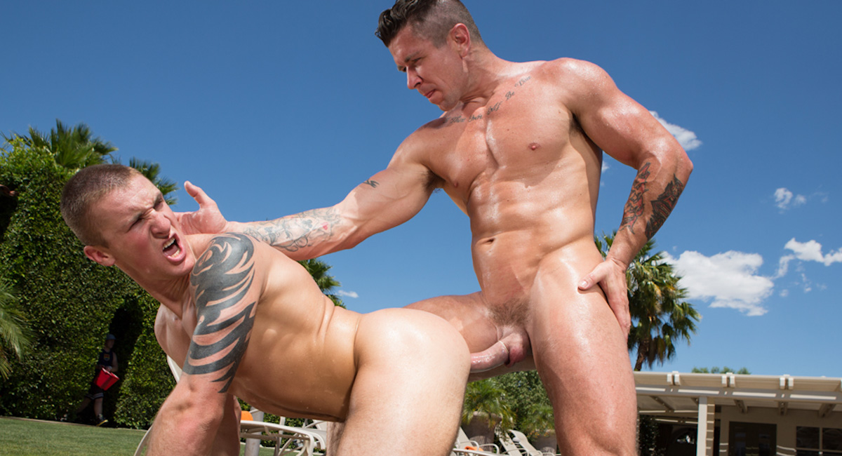 Trenton Ducati & Connor Kline in Heatstroke Scene Single middle aged man