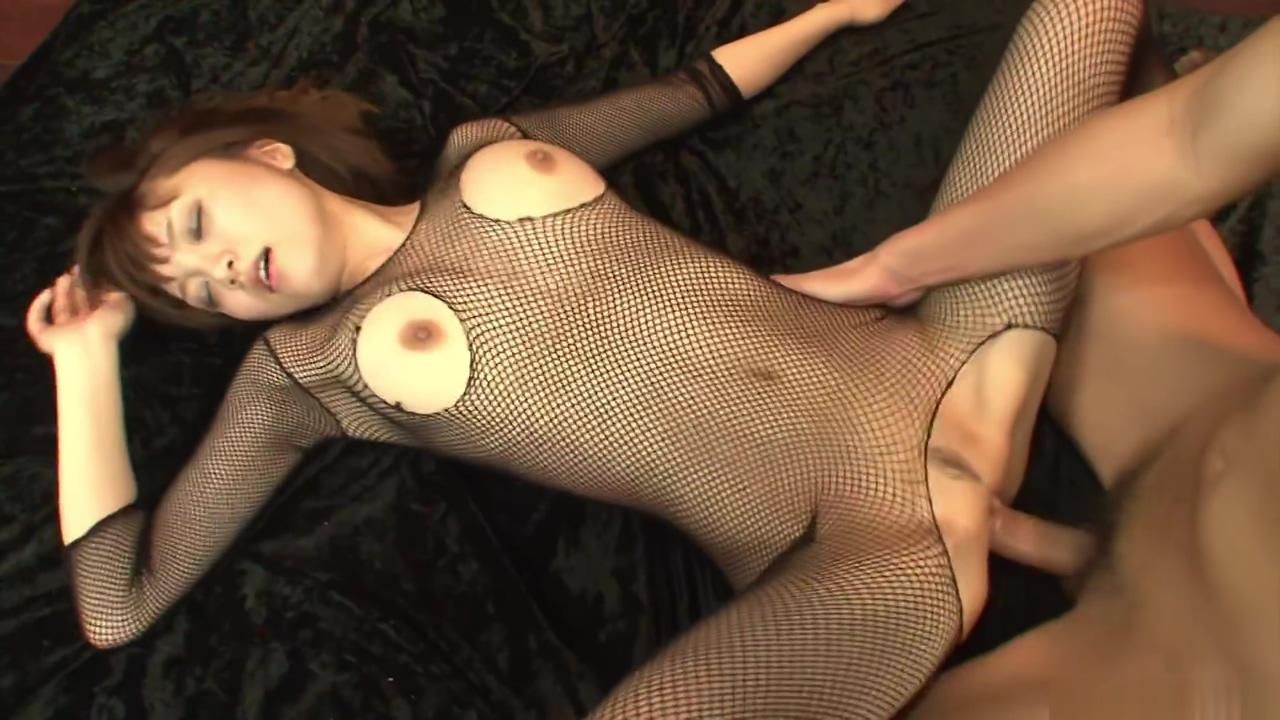 Yumemi Tachibana gets a gang bang in fishnet lingerie Licking grandmas dirty ass stories