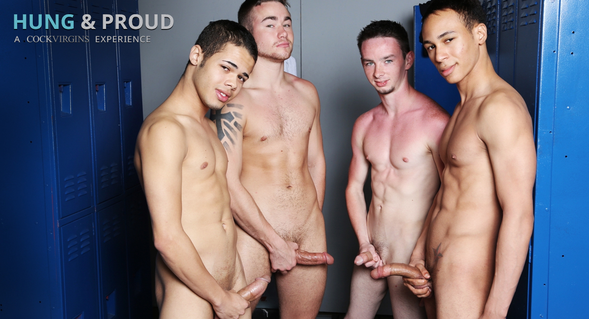 Trent Jackson & Santiago Figueroa & Leo Sweetwood & Jonathan Cardona in Hung & Proud Video Trade free pantyhose sex links blog