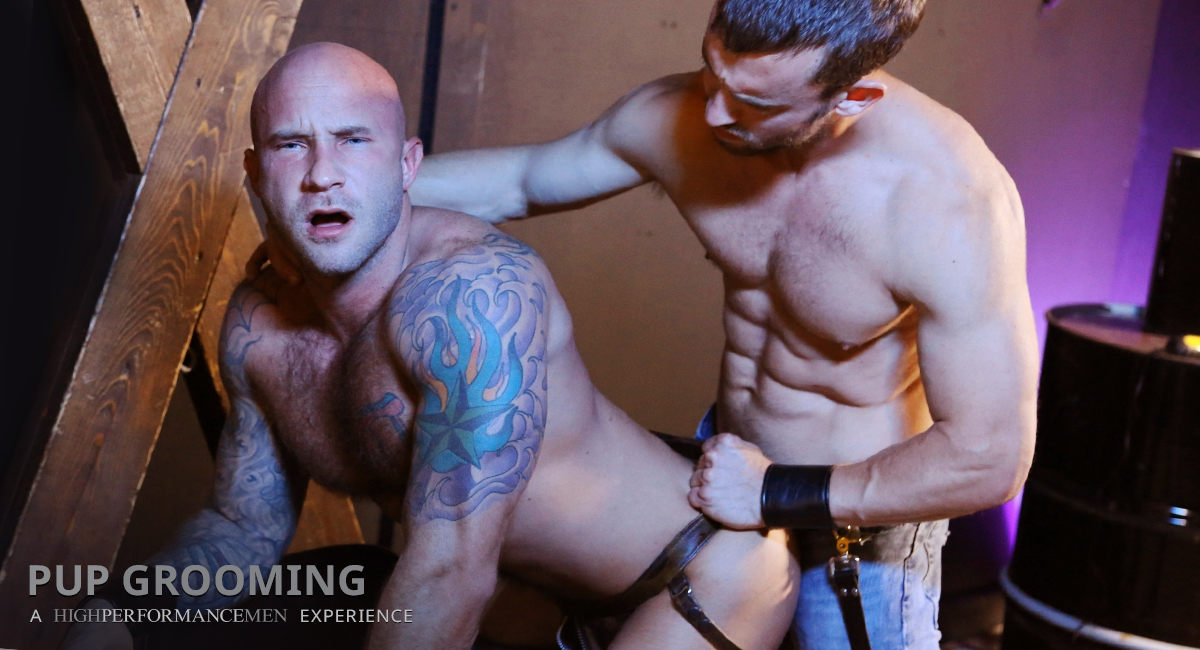 Drake Jaden & Mike Gaite in Pup Grooming Video Speed hookup events in orange county ca