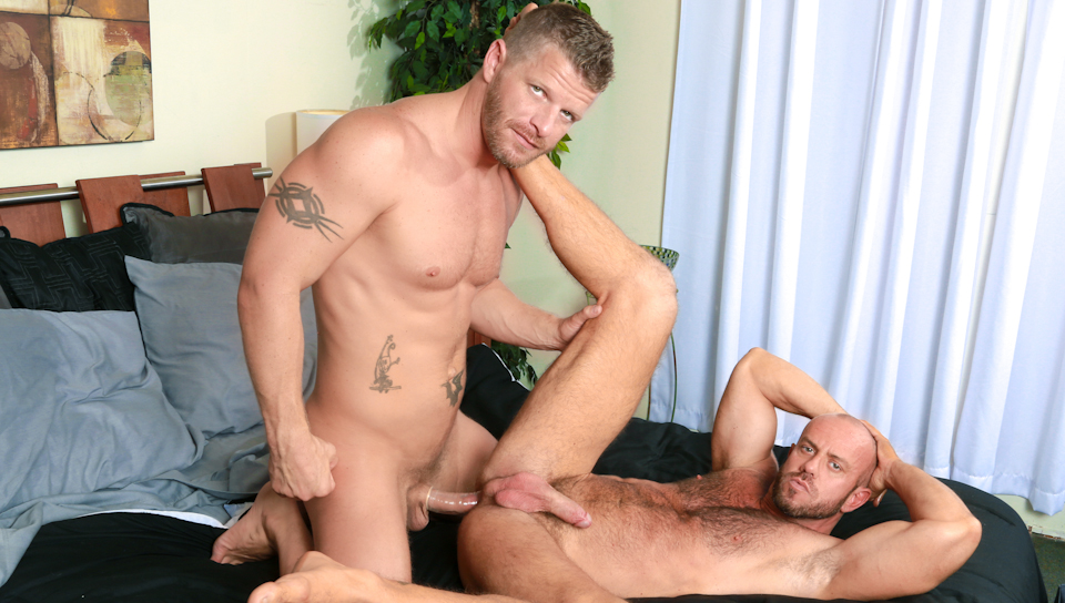 Jeremy Stevens & Matt Stevens in Bedroom Romp Video threesome mother of dragons