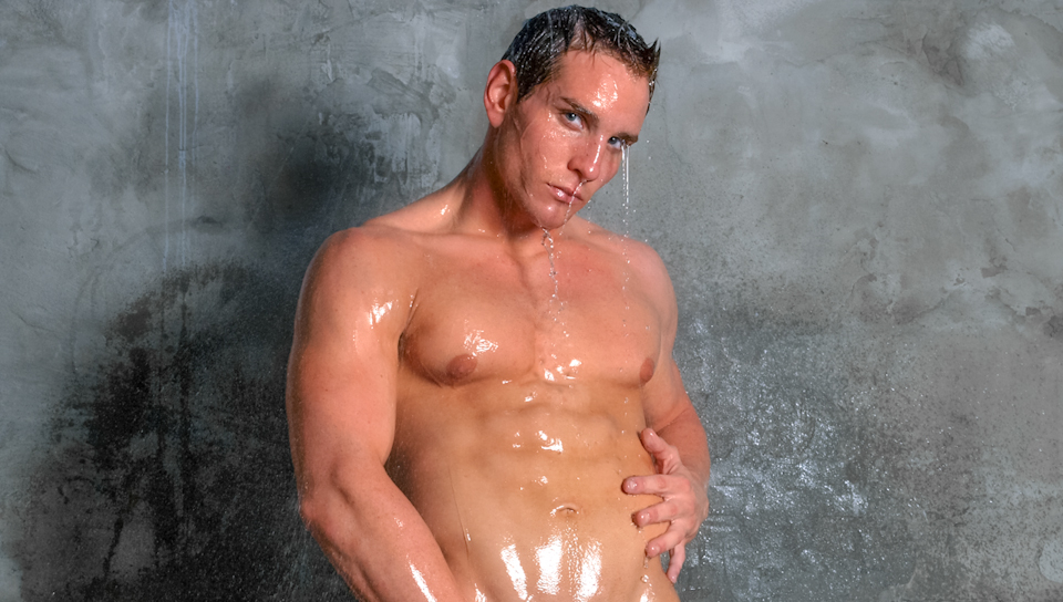 Dylan Roberts in Water Play Video Male strippers having sex with women