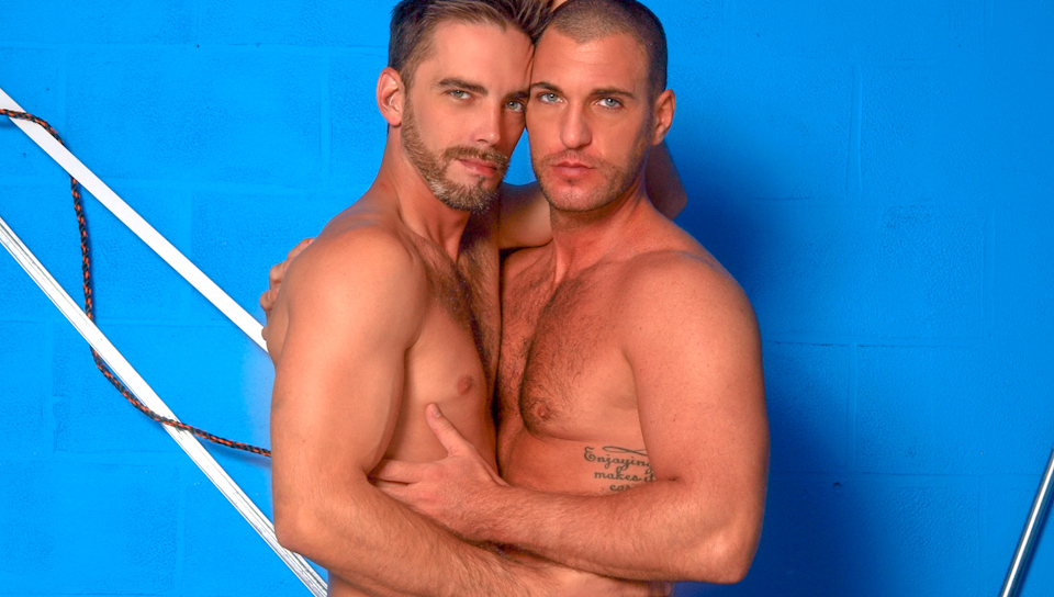 Joe Parker & Parker Wright in The Blue Zone Video Nude big tits pics