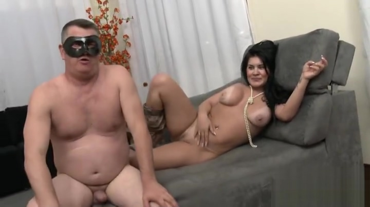Pleasing buxomy slut gets a cock in the ass