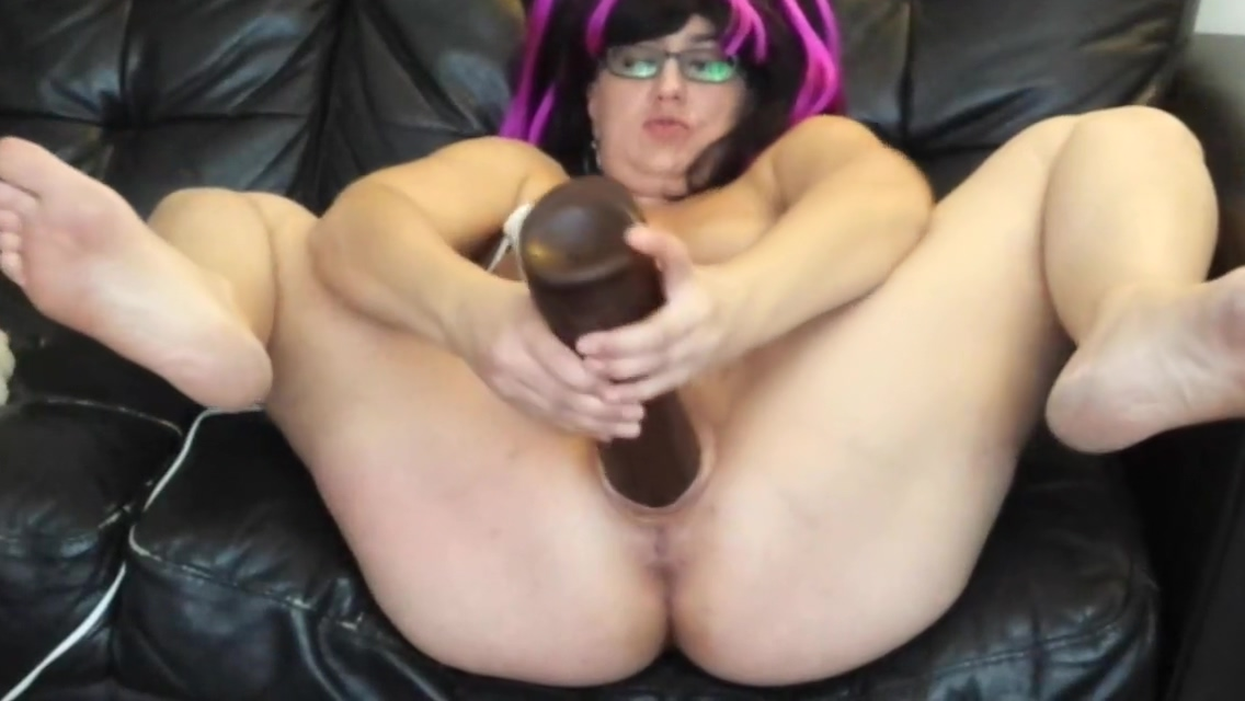 Whore fucks dildos with cum on face Tanned sexy fetish lesbian babe