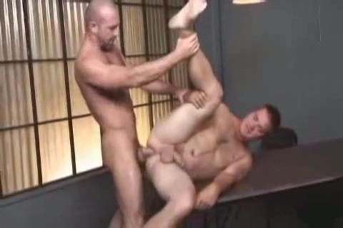 John West Fucks Johnny Donovan Excited slut truly likes sucking meaty hard knob
