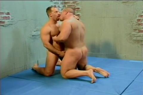 Battling Builder Bears 2 - wrestling suck fuck and JO match Career step address
