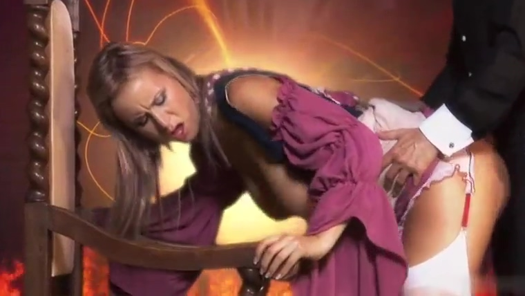 Misa T gets support from the chair while getting a doggystyle penetration milf threesome boobs xvideos