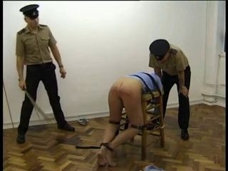Prison Caning and Birching Dva huge tits