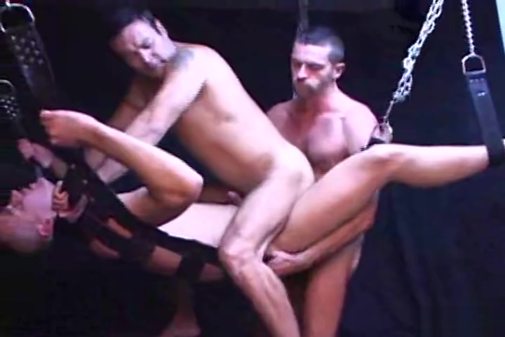 Bondage gay threesome Hot saxey photo