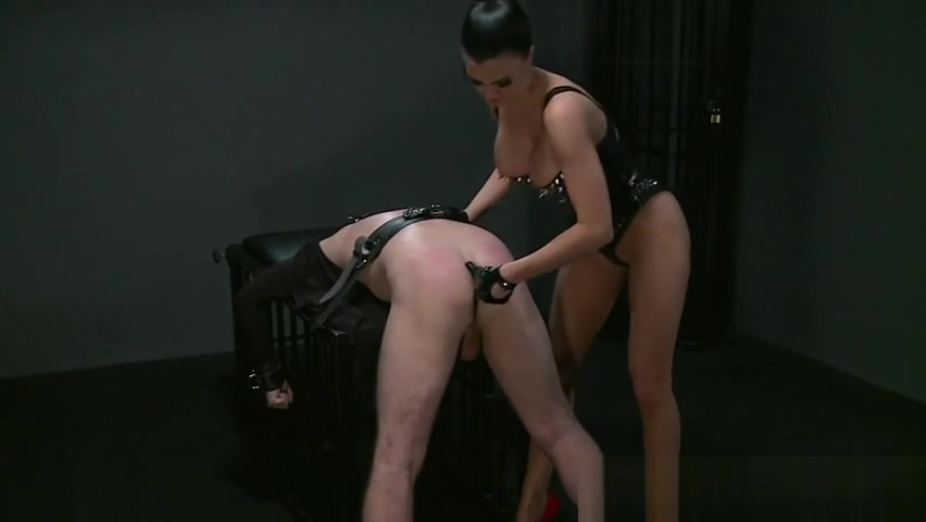 Fine-looking breasty tart in real BDSM action Abby Winters Real Couples