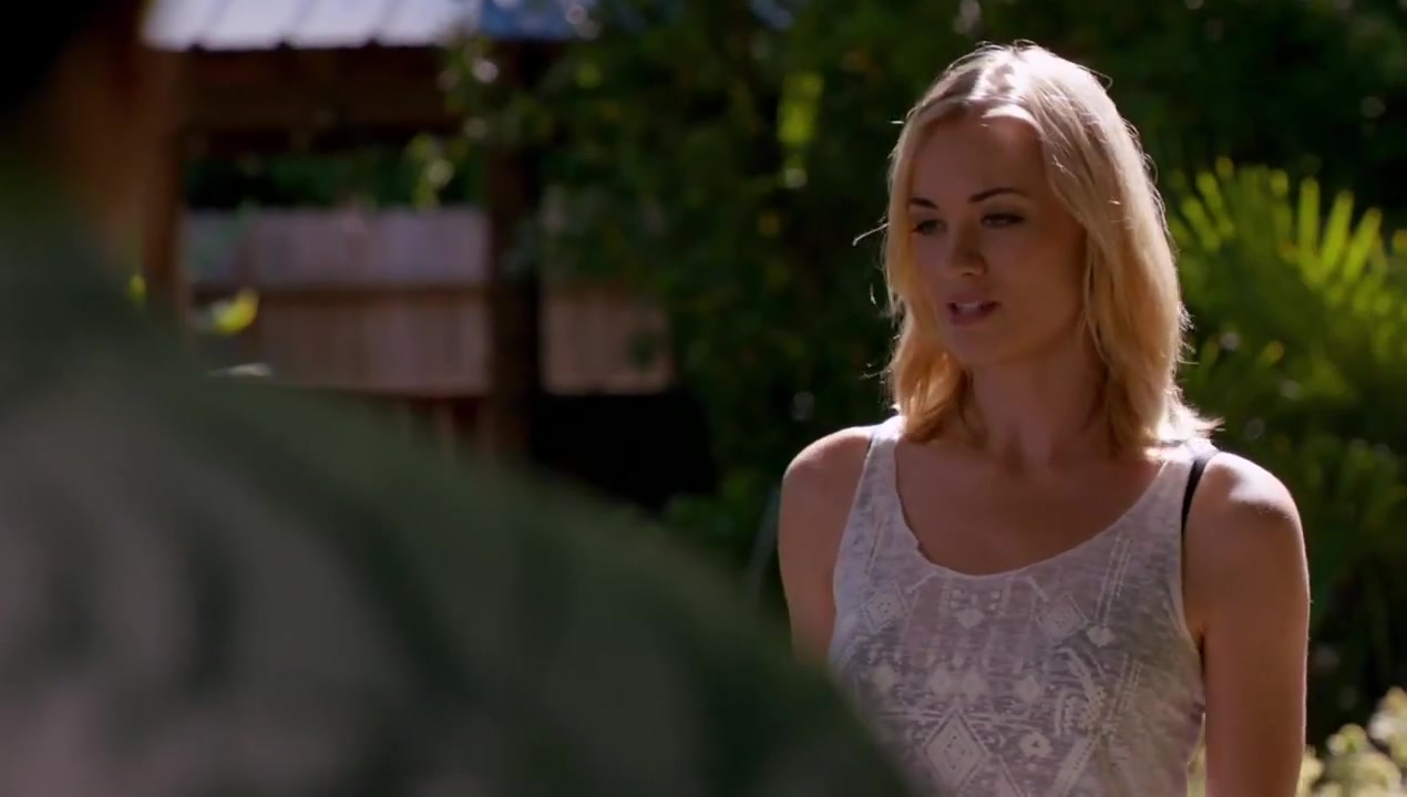 Yvonne Strahovksi - Dexter s7 Holiday lesbian sitges
