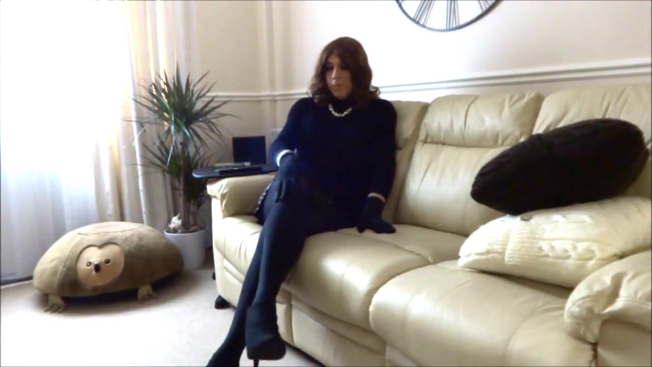 Reclined wank - Sexy Crossdreser Alison Thighbootboy If you commit adultery can you go to heaven