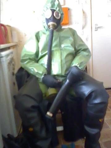 Hazmat suit wank. video sex teen free master server