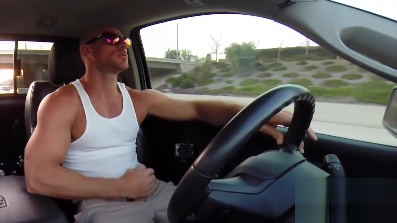Johnny Sins Solo: Jerking and Driving Moms Creampie Surprise