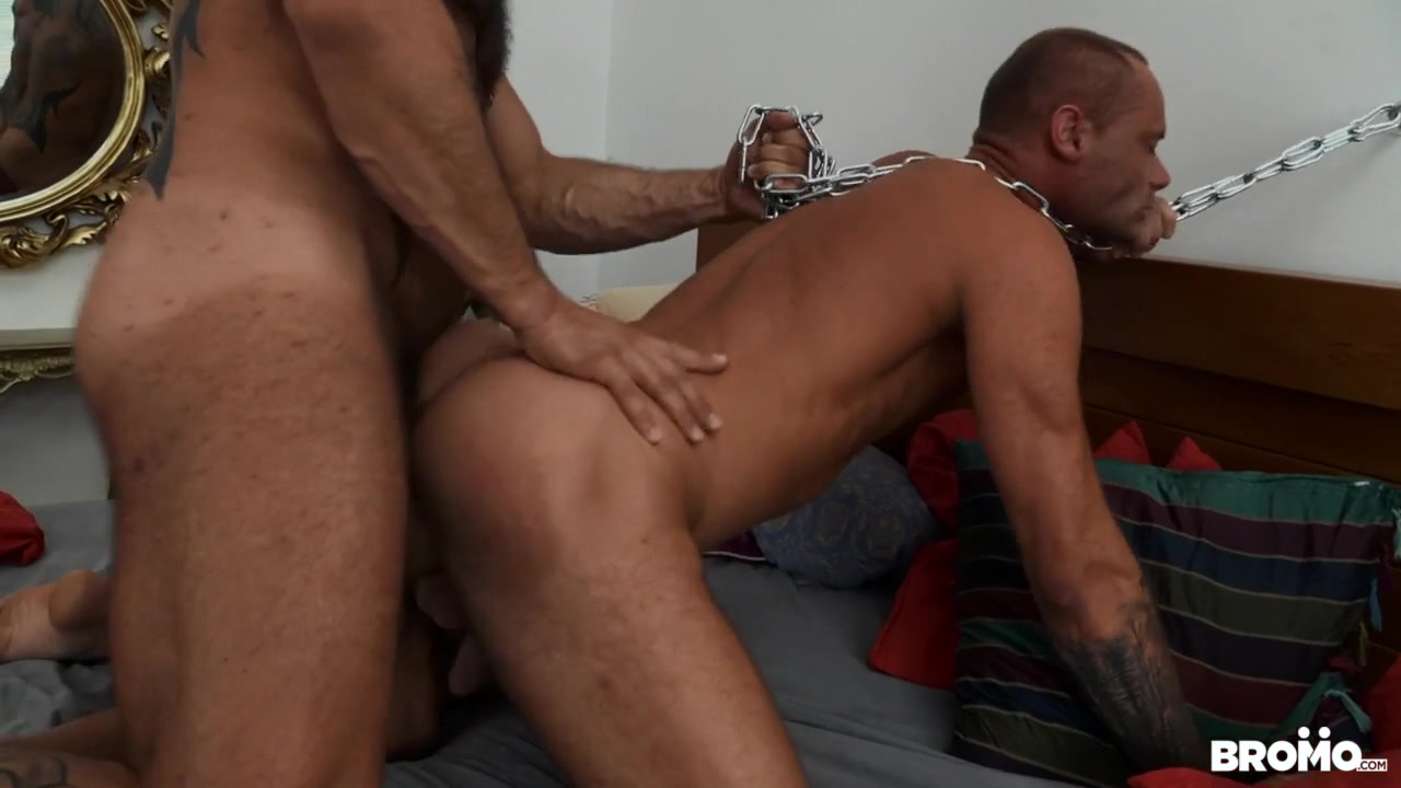 Marty & Bruno Turbo in Ass Chained - Bromo She loves the taste of cum