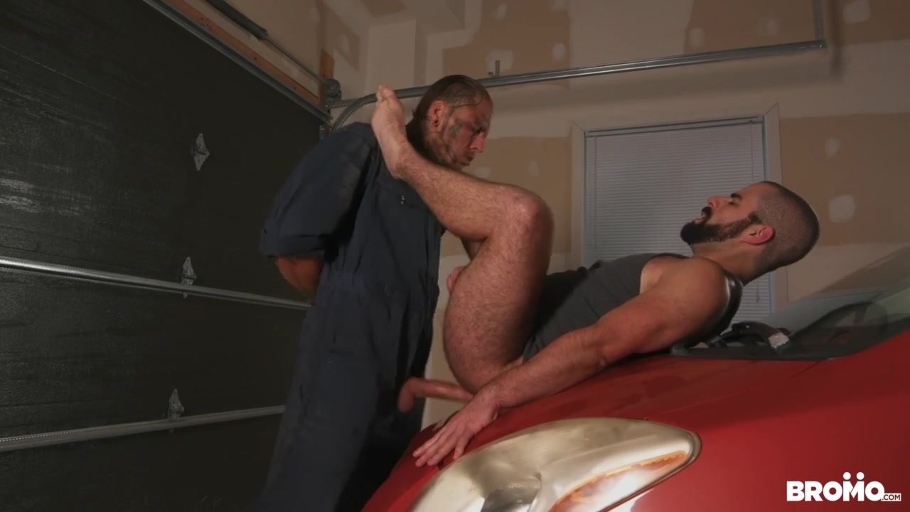 Bo Sinn & Shawn Assmore in Raw Tow Service Part 2 - Bromo Bondage damsel in
