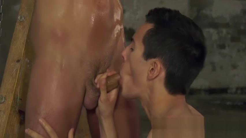 Young master Alexis Tivoli torments his slave Dante Lucas sunny leone sex bra