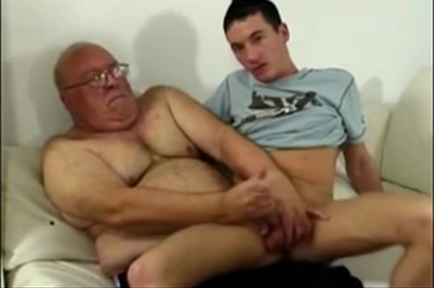 Grandpa and Young Guy Black sex plc
