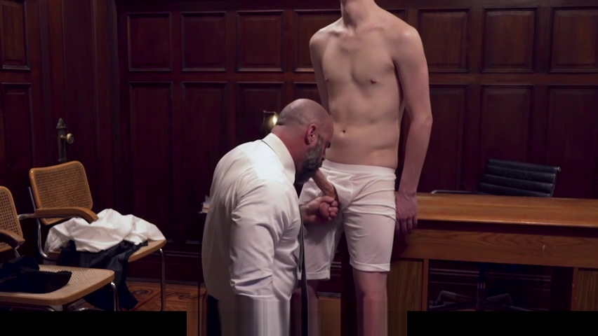 MormonBoyz - Burly Priest Fills A Missionary Boy?s Butt With Girthy Cock mens flannel pajama bottoms