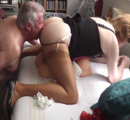 My older Friend with me (CD)+Torso Part 2 Getting a blowjob at work
