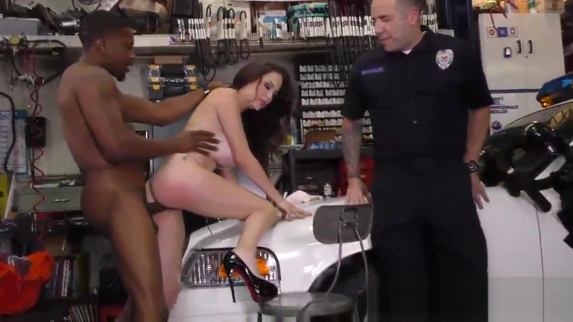 Busty milf cuckolds cop sexiest nude fucking video in the world