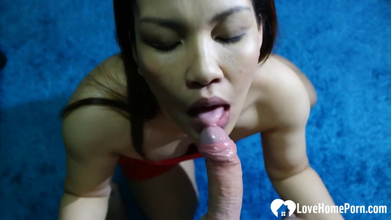 Hot stepsister giving a blowjob in POV Does garlic help sexually