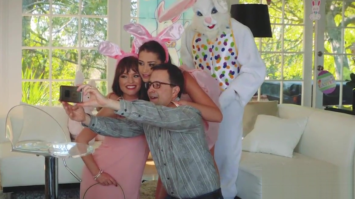 Fucking my bunny brother on easter school sex photo