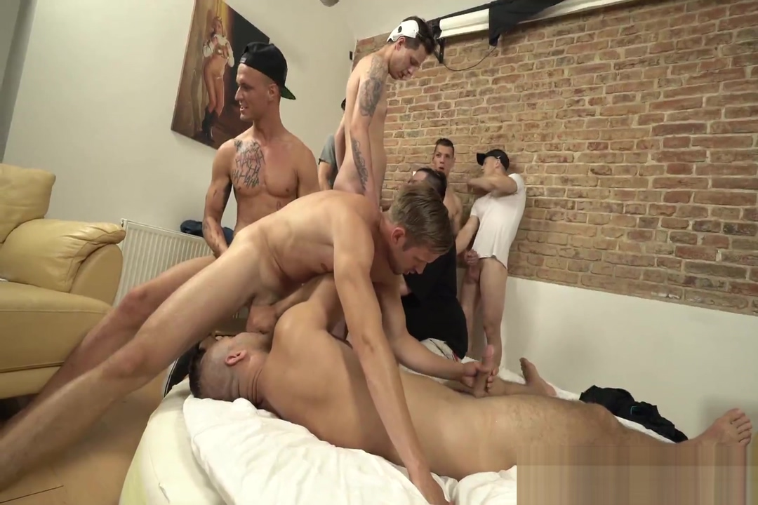 Bareback Bang Euro Twink Party Jesse getting roughed up