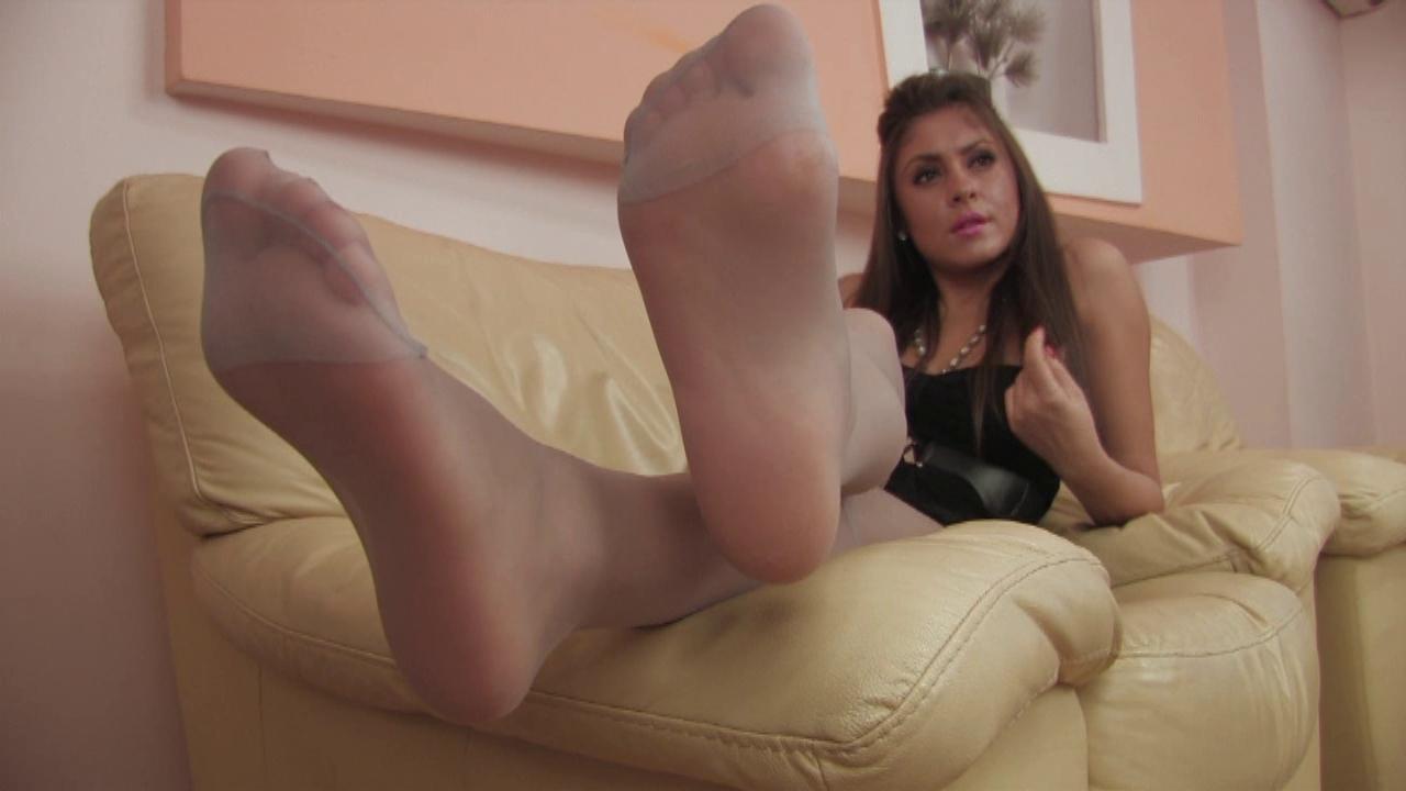 Nylon Feets 10 Emma Starr Pussy
