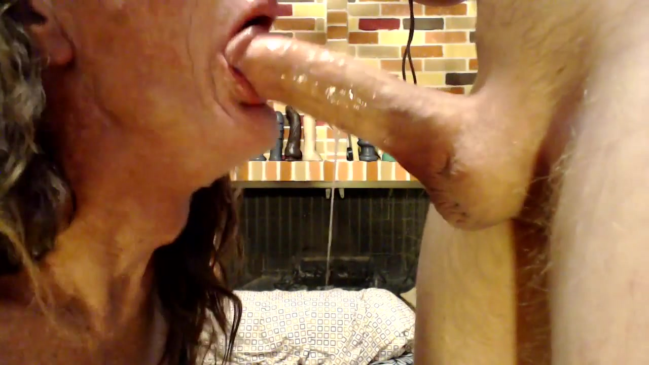 dildo slut fucks a dildo and sucks a cock sandra model no nude