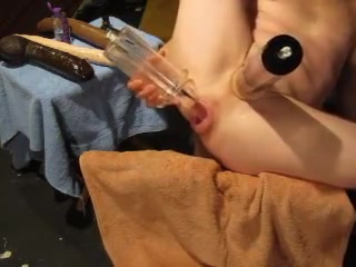 Prolapse Fucking and dildo dilation... Velvet swingers club milfs fucking members