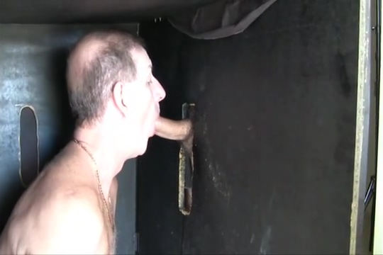 Johnny cums twice at the glory hole adult anal sex toys