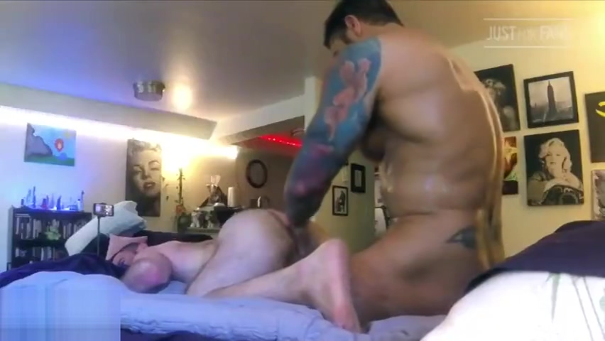 Everything Up His Ass With Muscle Daddies Wolfie & Jack (Bareback) Sexy naija ghana nude stripe fucked