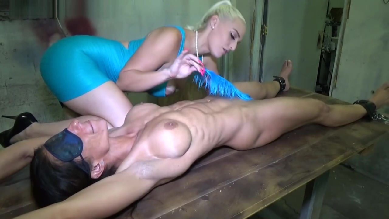 Tickle & lick muscle milfs armpits & stretched hardbody HD threesome gone wrong homemade