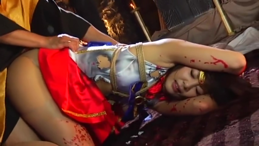 cosplay bondage girls naked in pain