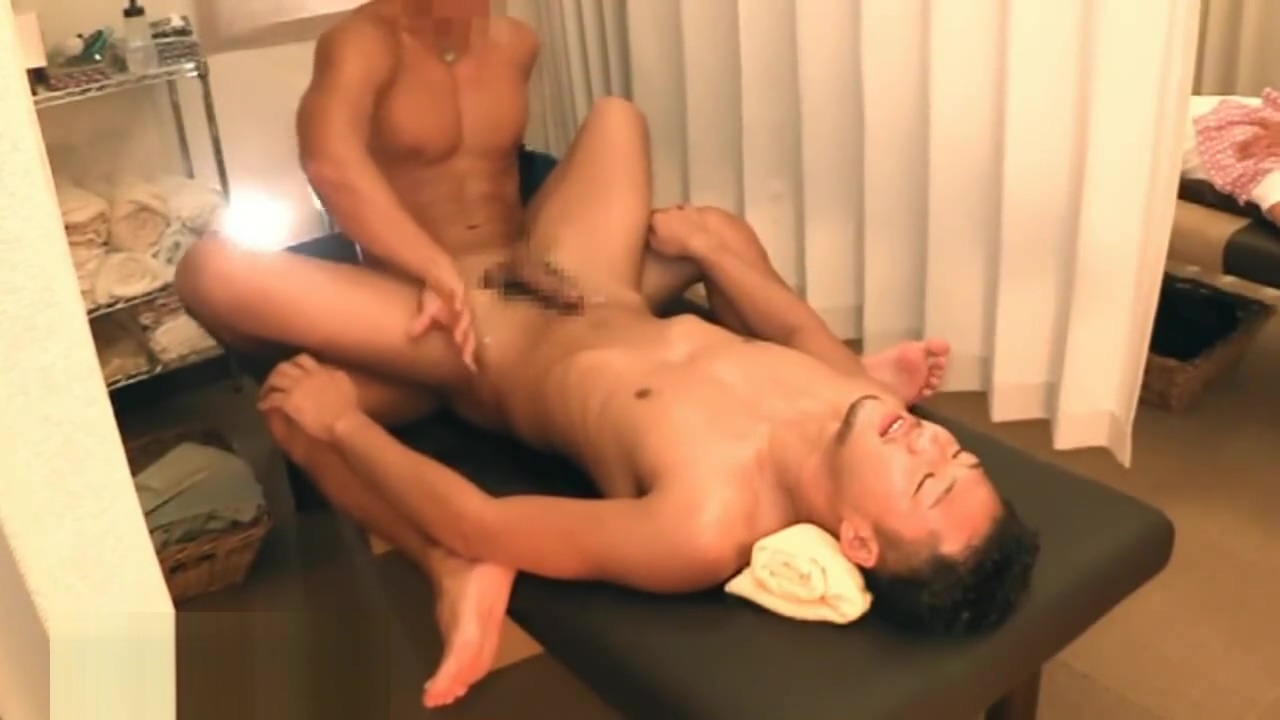 Hunk Channel - Muscle Therapist with Cover Head Towel, Tall Customer Dolph lambert gay porn star