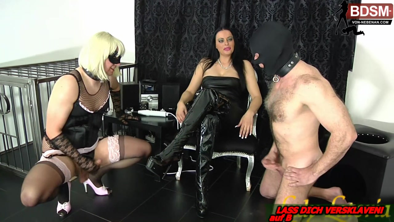 German bdsm fetisch Milf femdom domina and slaves Best Porn Video Clip
