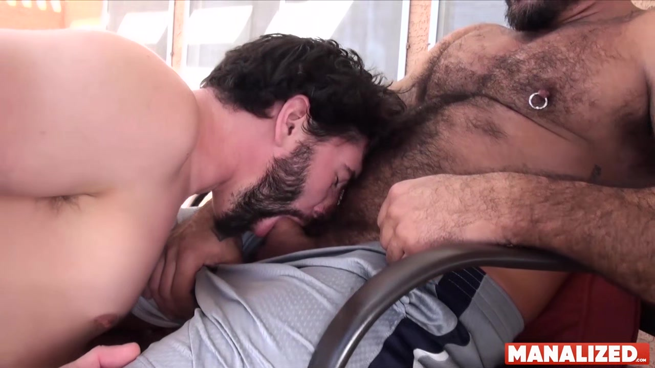 MANALIZED Jackson Fillmore Barebacked By Daddy In Backyard Colombian asses threesome