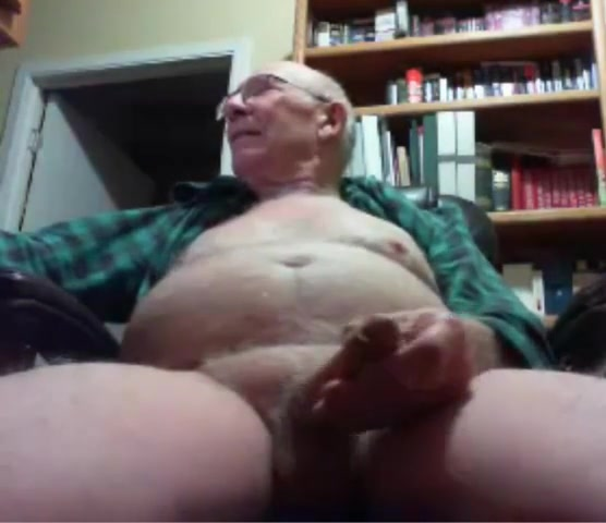grandpa big tool play on cam (no cum) Pool Table Pounding