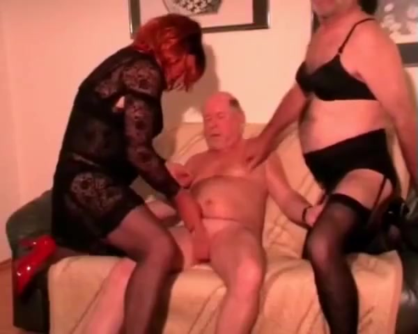 old man with crossdressers gay party sex porn