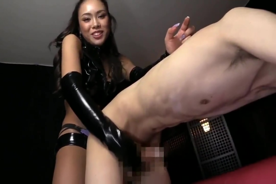 Asian FEMDOM Beauty Dominates Submissive Male