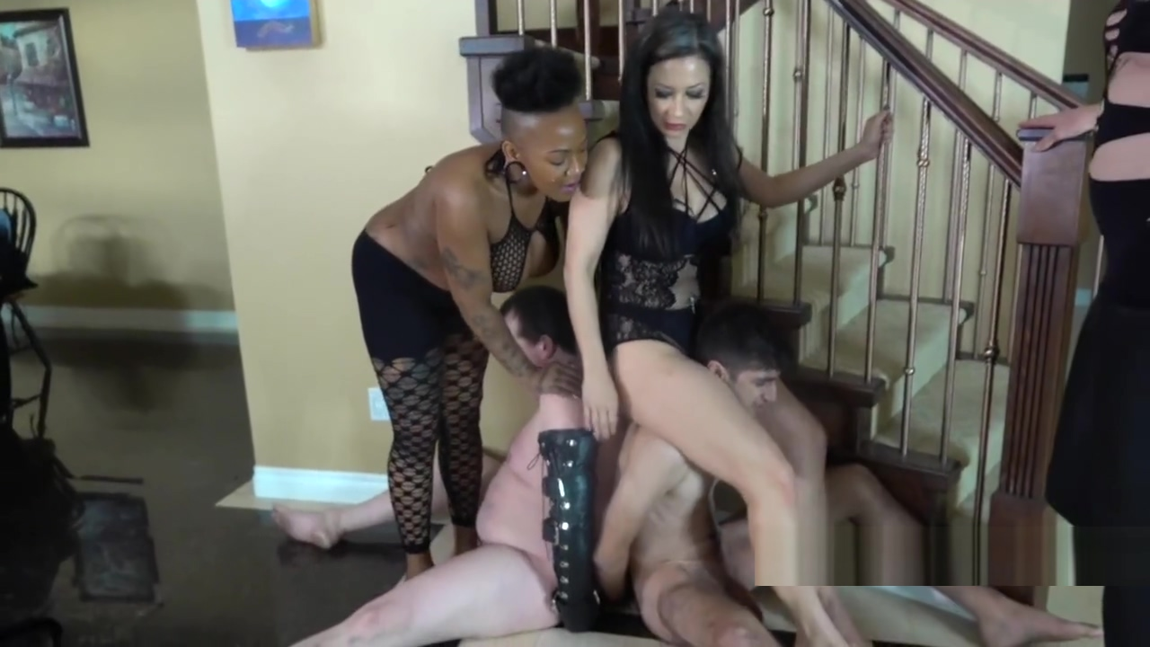 Miss Jasmine Koi TS Staci Ballbusting Withdrawals femdom Belly cumshot interracial