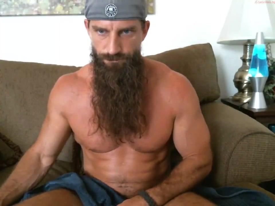 long bearded muscle guy solo #3 Fuck buddies free no membership
