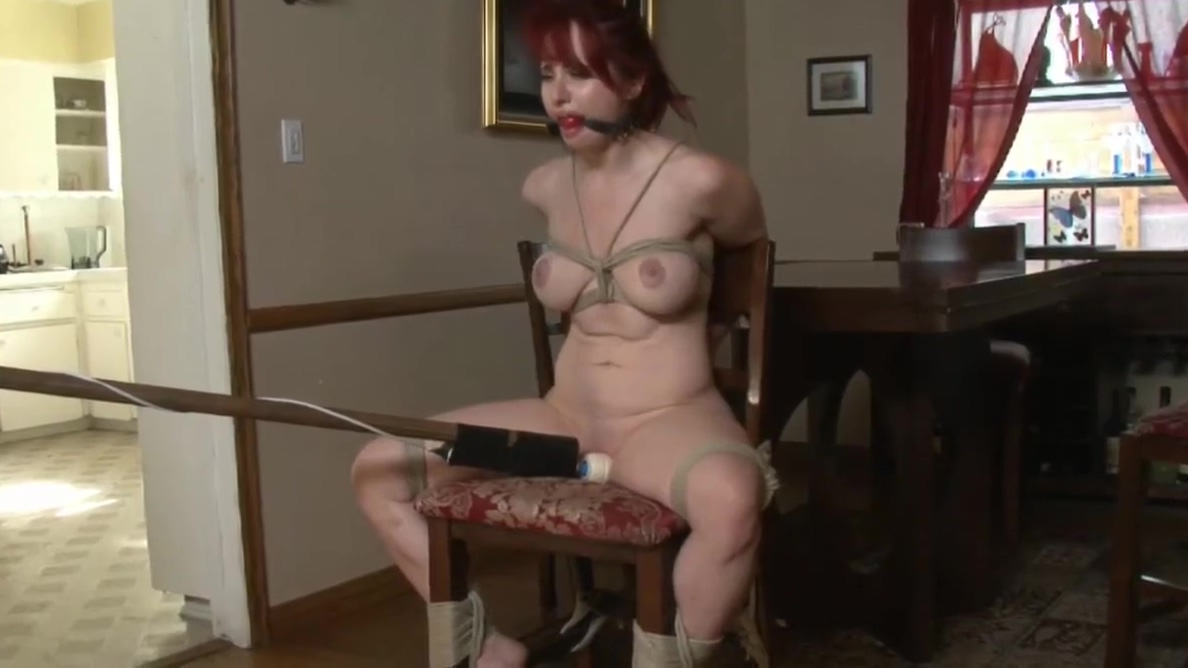 tied to chair and vibed what is a female squirting orgasm