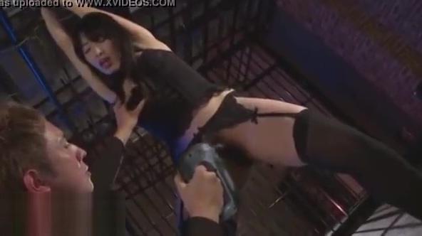 Sexy wet Asian bondage candy girl brooke bailey nip slip