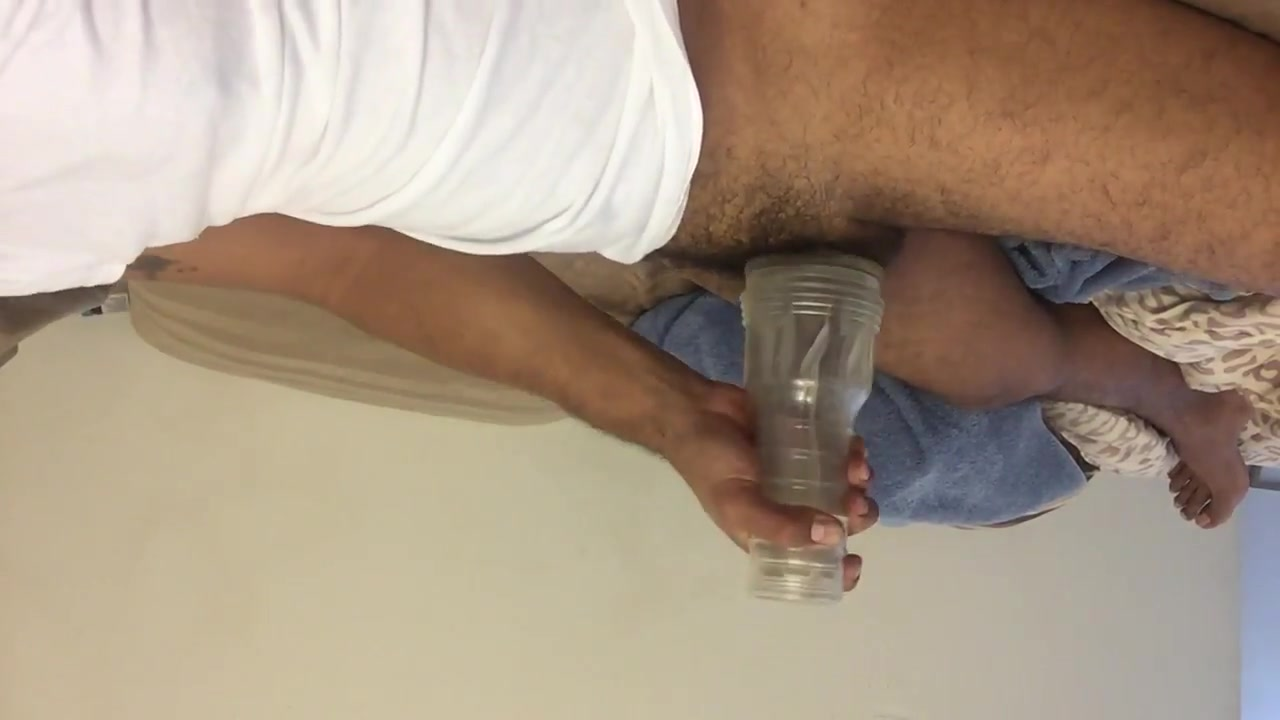 trying out the flesh light Corset Sex Tube