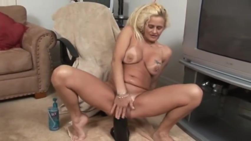 blond girl big dildos Latina riding dildos