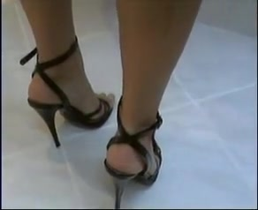 sexy heels wetlook girls do toys videos